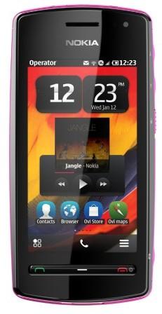 Nokia 600_front