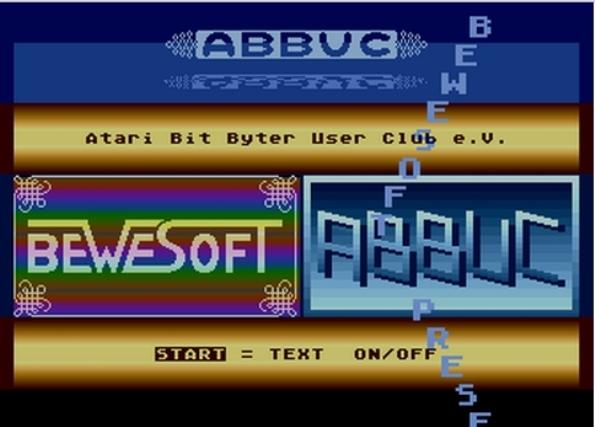 Atari800 Screenshot