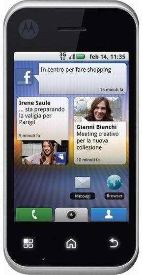 Motorola Backflip_Front