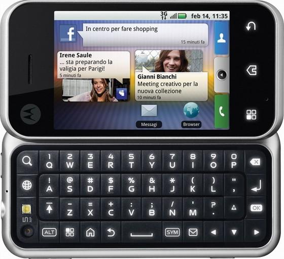 Motorola Backflip_Keypad