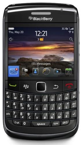 BlackBerry Bold 9780_Front