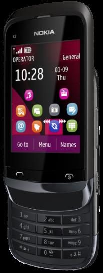Nokia C2-02_side