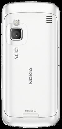 Nokia C6_back