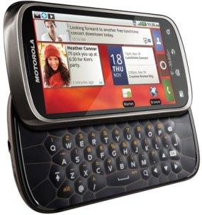 Motorola CLIQ2 with MOTOBLUR_keypad