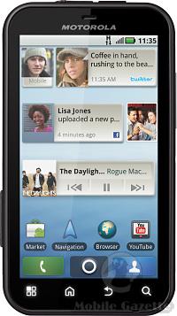 Motorola Defy_Front
