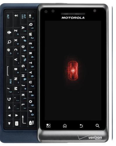 Motorola Droid2_Keypad