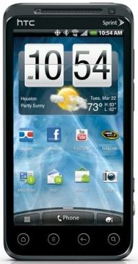 HTC EVO 3D_front