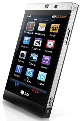 LG GD880_Side