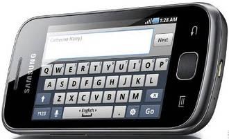 Samsung Galaxy Fit_keypad