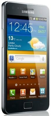 Samsung Galaxy S II_front
