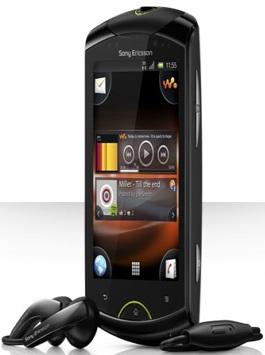 Sony Ericsson Live with Walkman_side