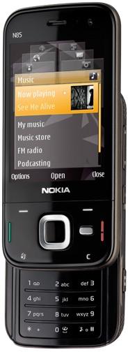 Nokia N85 silder