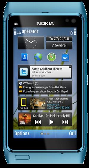Nokia N8_front