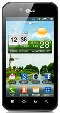 LG Optimus Black P970_front