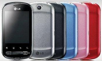 LG Optimus Me P350_colors