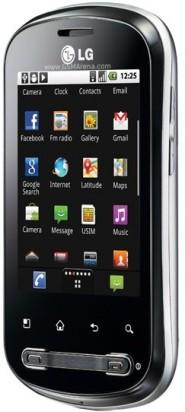 LG Optimus Me P350_side