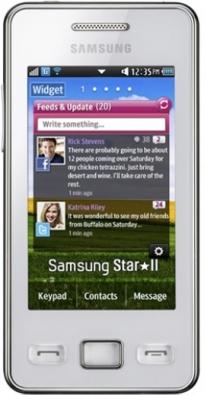 Samsung Star II S5263_front