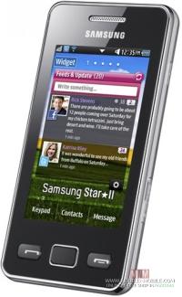 Samsung Star II S5263_side
