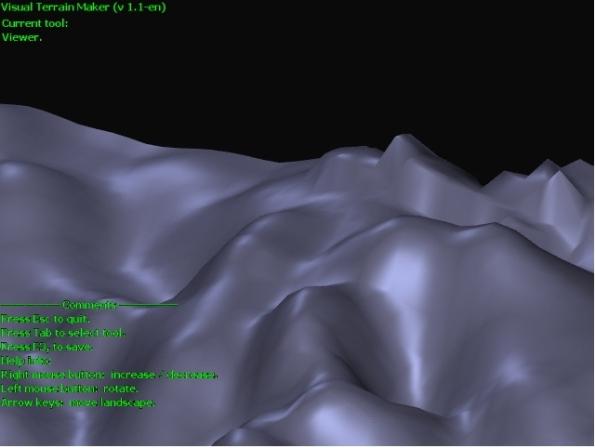 Visual Terrain Maker Screensho