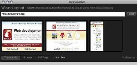 WebSnapshot - Take Screenshot of Entire Web Page - TECK IN