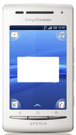 Sony Ericcson X8_Front