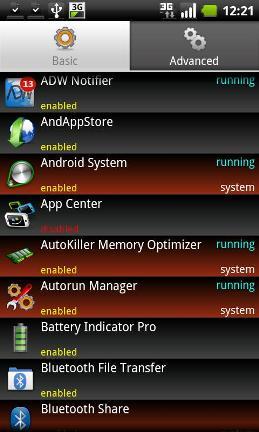 Autorun Manager Screenshot1