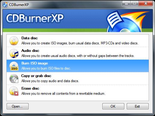 Download Free CD/DVD/Blu-Ray/HD-DVD Burning Software - CDBurnerXP