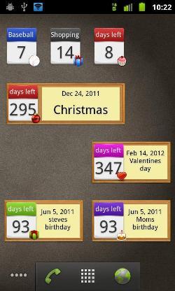 days-Left-widget-screenshots