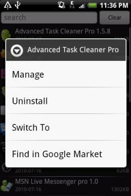 Fast Uninstaller Screenshot2