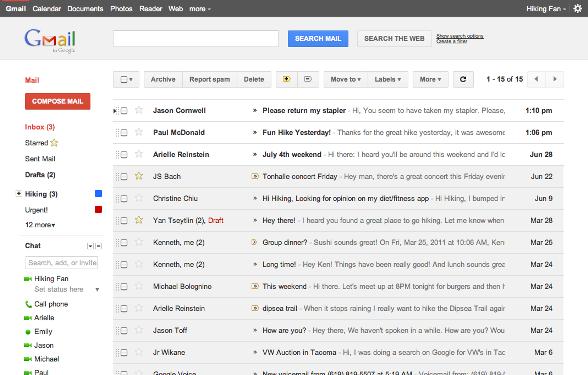 Gmail Preview Theme