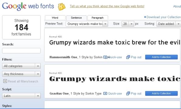 google-web-fonts-screenshot