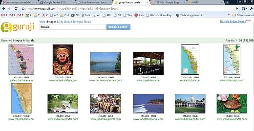 guruji indian search engine