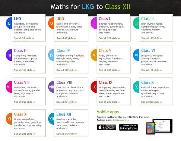 ixl-math-homepage