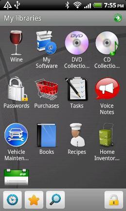 Momento Database Screenshot1