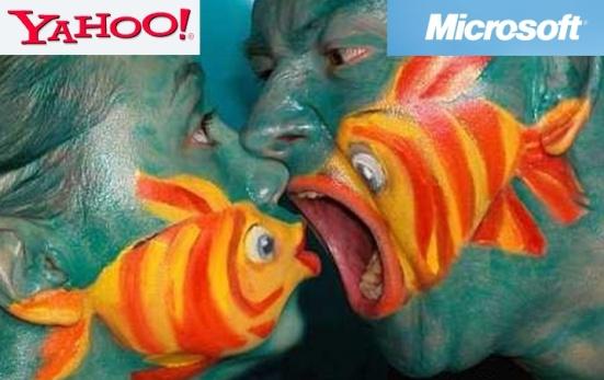Microsoft Big Fish Swallowing Yahoo!